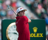 20.07.2014. Hoylake, England. The Open Golf Championship, Final Round. Keegan BRADLEY [USA]from the tee