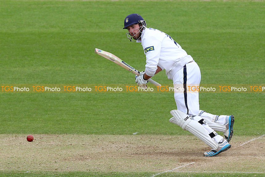 James Vince in batting action for Hampshire - Hampshire CCC vs Essex CCC - LV County Championship Division Two Cricket at the Ageas Bowl, West End, Southampton - 16/06/14 - MANDATORY CREDIT: Gavin Ellis/TGSPHOTO - Self billing applies where appropriate - 0845 094 6026 - contact@tgsphoto.co.uk - NO UNPAID USE