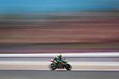 June 10th 2017,  Barcelona Circuit, Montmelo, Catalunya, Spain; MotoGP Grand Prix of Catalunya, qualifying day; Camera blur of Aleix Espargaro of April Gresini Team during the qualifying session