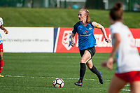 Kansas City, MO - Saturday September 9, 2017: Becky Sauerbrunn during a regular season National Women's Soccer League (NWSL) match between FC Kansas City and the Chicago Red Stars at Children's Mercy Victory Field.