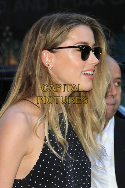 NEW YORK, NY - JUNE 22: Amber Heard at Good Morning America promoting Magic Mike XXL in New York City on June 22, 2015. <br /> CAP/MPI/RW<br /> &copy;RW/MPI/Capital Pictures