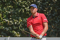 Daniel Berger (USA) watches his tee shot on 3 during round 1 of the World Golf Championships, Mexico, Club De Golf Chapultepec, Mexico City, Mexico. 3/1/2018.<br /> Picture: Golffile | Ken Murray<br /> <br /> <br /> All photo usage must carry mandatory copyright credit (&copy; Golffile | Ken Murray)