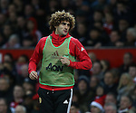 Marouane Fellaini of Manchester United gets booed as he warms up during the English Premier League match at Old Trafford Stadium, Manchester. Picture date: December 11th, 2016. Pic Simon Bellis/Sportimage