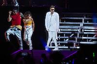 SAO PAULO, SP, 02.11.2013 - SHOW JUSTIN BIEBER - Cantor canadense Justin Bieber durante show na Arena Anhembi regiao norte da cidade de Sao Paulo na noite deste sabado, 02. (Foto: Vanessa Carvalho / Brazil Photo Press).