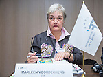 BRUSSELS - BELGIUM - 25 November 2016 -- European Training Foundation (ETF) Governing Board meeting. -- Marleen Voordeckers, ETF -  EU Liaison Officer, Corporate Performance Department. -- PHOTO: Juha ROININEN / EUP-IMAGES