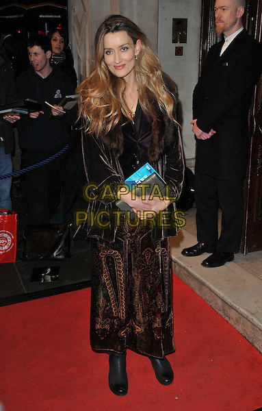 Natascha McElhone attends the &quot;People, Places and Things&quot; VIP opening night, Wyndham's Theatre, Charing Cross Road, London, UK, on Wednesday 23 March 2016.<br /> CAP/CAN<br /> &copy;Can Nguyen/Capital Pictures