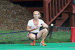 12 September 2014: Syracuse head coach Ange Bradley. The University of North Carolina Tar Heels hosted the Syracuse University Orange at Francis E. Henry Stadium in Chapel Hill, North Carolina in a 2014 NCAA Division I Field Hockey match. UNC won the game 3-0.
