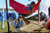 lay in the hammock at the swiss camp area