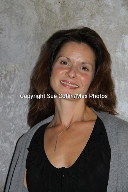 "One Life To Live's Florencia Lozano ""Tea Delgado"" stars in  ""Verbatim Verboten - NYC"" on October 18, 2010 at the WorkShop Theater, NYC. (Photo by Sue Coflin/Max Photos)"