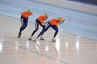 SPEEDSKATING: SOCHI: Adler Arena, 24-03-2013, Essent ISU World Championship Single Distances, Day 4, Team Pursuit Men, © Martin de Jong