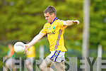 Kieran Quirke Feale Rangers in action against  Mid Kerry in the First Round of the Kerry Senior Football Championship at O'Rahilly Park Ballylongford on Sunday.