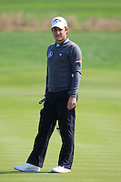 Emiliano Grillo (ARG) on the 8th green during Sunday's Final Round of the 2014 BMW Masters held at Lake Malaren, Shanghai, China. 2nd November 2014.<br /> Picture: Eoin Clarke www.golffile.ie