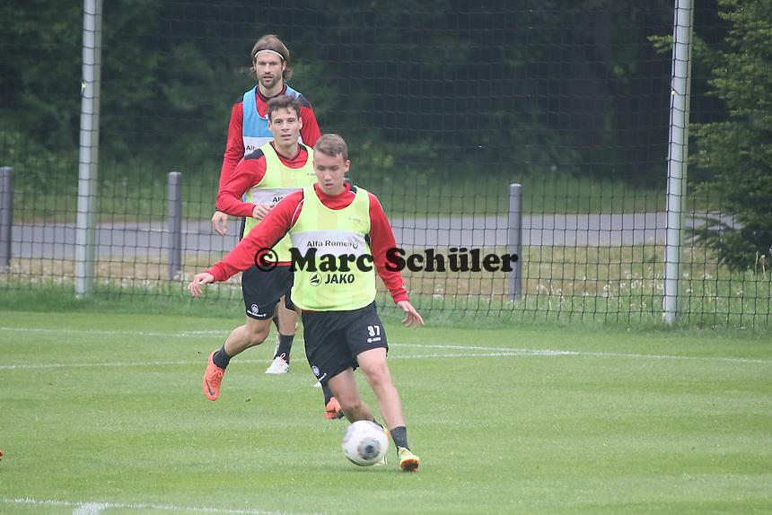 Luca Waldschmidt greift an - Eintracht Frankfurt vs. Training, Commerzbank Arena