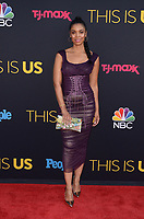 "HOLLYWOOD- SEPTEMBER 26:  Susan Kelechi Watson at the premiere of NBC's ""This Is Us"" Season 2 at NeueHouse Hollywood on September 26, 2017 in Hollywood, California. (Photo by Scott Kirkland/PictureGroup)"