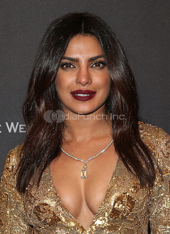 BEVERLY HILLS, CA - JANUARY 08: Priyanka Chopra at The Weinstein Company and Netflix Golden Globe Party at The Beverly Hilton Hotel on January 8, 2017 in Beverly Hills, California. Credit: Faye Sadou/MediaPunch