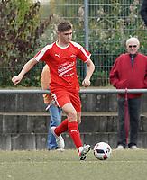 Noah Lorenz (Büttelborn) - Büttelborn 03.10.2019: SKV Büttelborn vs. FSG Riedrode, Gruppenliga Darmstadt