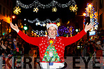 Killarney Mayor Niall Kellher switched on the lights  at the Kiilarney Christmas parade on Saturday night