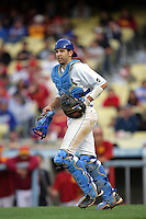 February 28 2010: Steve Rodriguez of UCLA during game against USC at Dodger Stadium in Los Angeles,CA.  Photo by Larry Goren/Four Seam Images