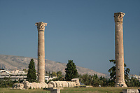 Temple of Zeus Ruins, Athens, Greece
