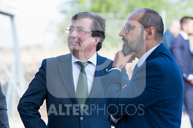 President of Extremadura Guillermo Fernandez Vara during the opening of School Year in Torrejoncillo (Caceres). September 17, 2019. (ALTERPHOTOS/Francis Gonzalez)