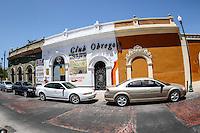 Club Obregon en la  plaza Hidalgo, colonia Centro de Hermosillo.<br /> Foto: LuisGutierrrez/NortePhoto