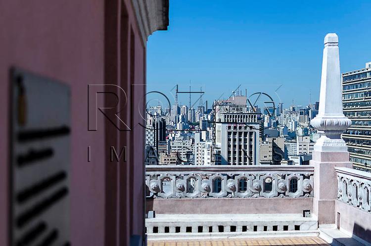 Terraço do Edifício Martinelli, São Paulo - SP, 01/2014.