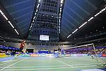 Kenichi Tago (JPN), Lee Chong Wei (MAS), SEPTEMBER 22, 2013 - Badminton : Yonex Open Japan 2013 Men's Singles final at Tokyo Metropolitan Gymnasium, Tokyo, Japan. (Photo by Yusuke Nakanishi/AFLO SPORT) [1090]