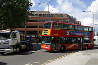 London bus route 95. Shepherds Bush, London, England