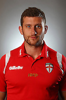 PICTURE BY VAUGHN RIDLEY/SWPIX.COM - Rugby League - England Rugby League Headshots - UCLan Sports Arena, Preston, England - 23/10/12.