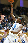 27 January 2013: Duke's Chelsea Gray. The Duke University Blue Devils played the Boston College Eagles at Cameron Indoor Stadium in Durham, North Carolina in an NCAA Division I Women's Basketball game. Duke won the game 80-56.