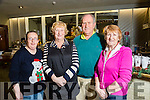 Volunteers Bernadette Donovan, Ena Galvin, Gally's Bar, Denis Mannix (Tralee, John Mitchels) and Kit Ryan at the John Mitchels Christmas Party in Champers Club House on Saturday