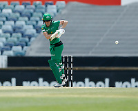 3rd November 2019; Western Australia Cricket Association Ground, Perth, Western Australia, Australia; Womens Big Bash League Cricket, Sydney Sixers verus Melbourne Stars; Elyse Villani of the Melbourne Stars plays down the leg side during her innings - Editorial Use