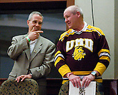 - The 2012 Hobey Baker Award ceremony was held at MacDill Air Force Base on Friday, April 6, 2012, in Tampa, Florida.