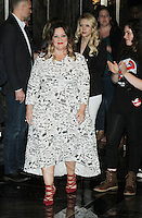 NEW YORK, NY-July 12:  Melissa McCarthy, Kate Mckinnon,  at Gilda's Club & Ghostbuster Cast Lighting  at Empire State Building  in New York. NY July 12, 2016. Credit:RW/MediaPunch
