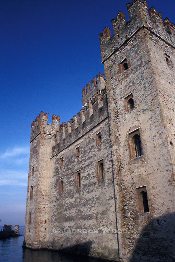 Scaliger Castle Sirmione Lake Garda Italy