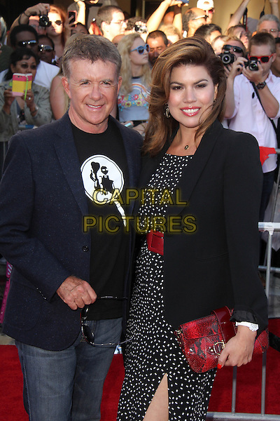 WESTWOOD, CA - July 10: Alan Thicke, Tanya Callau at the &quot;Sex Tape&quot; World Premiere, Village Theater, Westwood,  July 10, 2014.  <br /> CAP/MPI/JO<br /> &copy;Janice Ogata/MediaPunch/Capital Pictures