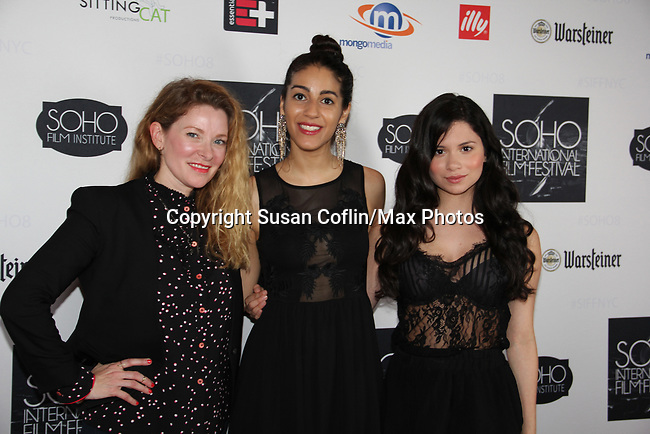 -  Seeing is Believing: Women Direct at its East Coast Premiere at Soho International Film Festival on June 19, 2017 in New York City, New York.(Photos by Sue Coflin/Max Photos) Cady McClain, Carlotta Summers, Camila Perez