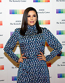 Actress Eva Longoria arrives for the formal Artist's Dinner honoring the recipients of the 40th Annual Kennedy Center Honors hosted by United States Secretary of State Rex Tillerson at the US Department of State in Washington, D.C. on Saturday, December 2, 2017. The 2017 honorees are: American dancer and choreographer Carmen de Lavallade; Cuban American singer-songwriter and actress Gloria Estefan; American hip hop artist and entertainment icon LL COOL J; American television writer and producer Norman Lear; and American musician and record producer Lionel Richie.  <br /> Credit: Ron Sachs / Pool via CNP