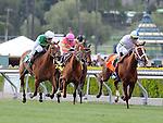 April 9, 2011.Cambina riden by Garrett Gomez winning The Providencia Stakes at Santa Anita Park, Arcadia, CA