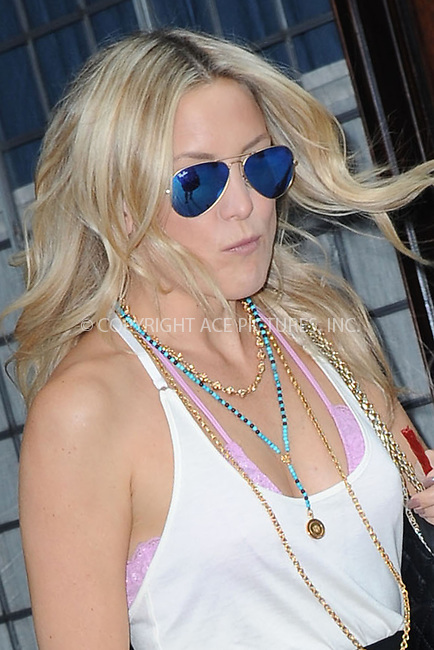 WWW.ACEPIXS.COM<br /> July 22, 2014 New York City<br /> <br /> Kate Hudson leaves her TriBeCa Hotel on July 22, 2014 in New York City.<br /> <br /> Please byline: Kristin Callahan/AcePictures<br /> <br /> ACEPIXS.COM<br /> <br /> Tel: (212) 243 8787 or (646) 769 0430<br /> e-mail: info@acepixs.com<br /> web: http://www.acepixs.com