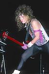 Jeff Pilson of Dokken 1986
