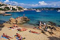 Spanien, Mallorca, Cala Fornells in Peguera