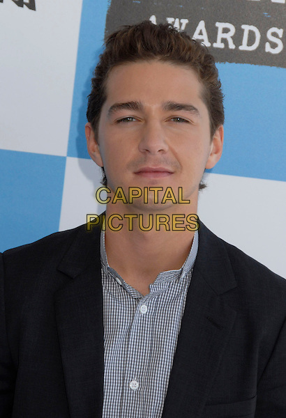 SHIA LeBOEUF .The 2007 Independent Spirit Awards held at the Santa Monica Pier, Santa Monica, California, USA..February 24th, 2007.headshot portrait .CAP/ADM/GB.©Gary Boas/AdMedia/Capital Pictures