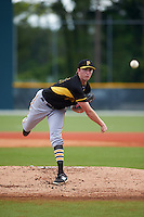 Pittsburgh Pirates pitcher Gage Hinsz (55) during an instructional league intrasquad black and gold game on September 18, 2015 at Pirate City in Bradenton, Florida.  (Mike Janes/Four Seam Images)