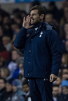 12.12.2013 London, England. Tottenham Hotspur manager André Villas Boas during the Europa League game between Tottenham Hotspur and Anzhi Makhachkala from White Hart Lane.