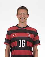 Stanford Soccer M Portraits and Team Photo, September 7, 2016