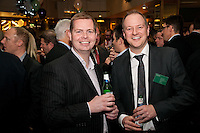 Andrew Clarke of Baker Tilly (left) with Adam Richardson of Lloyds