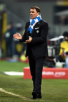Leonardo Semplici coach of Spal reacts during the Serie A 2018/2019 football match between AC Milan and SPAL at stadio Giuseppe Meazza in San Siro, Milano, December 29, 2018 <br /> Foto Image Sport / Insidefoto