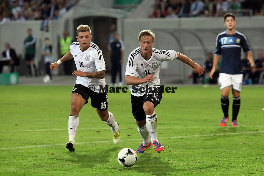 Alexander Esswein und Sebastian Polter (D)