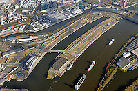 Hamburg Hafencity Uebersicht Ostteil: EUROPA, DEUTSCHLAND, HAMBURG, (EUROPE, GERMANY), 10.11.2013 Hamburg Hafencity Uebersicht Ostteil, zwischen Baakenbruecke und Norderelbbruecke